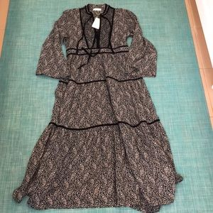DOEN Elix dress prairie paisley